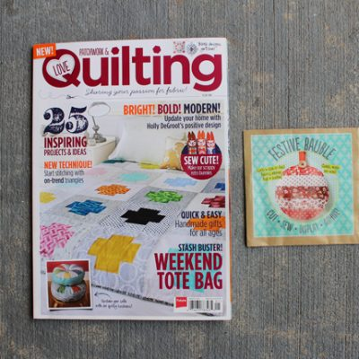 Stumbled Across.. A New Patchwork & Quilting Magazine!