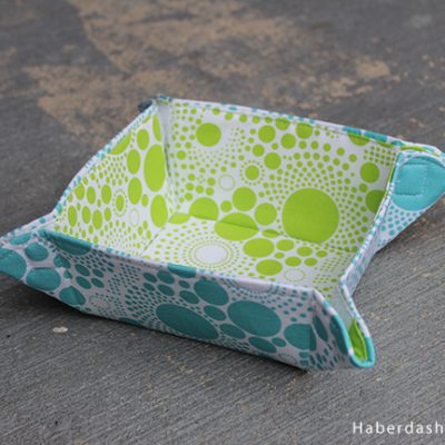 Collapsible Fabric Bowl Pattern