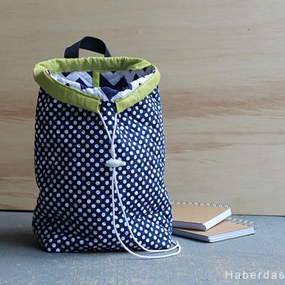 Riley Blake Designs Blog Tour.. Quilted Cotton Mini Back Pack