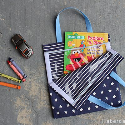 DIY.. Velcro Kids Activity Bag