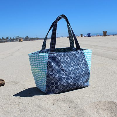 Art Gallery Fabrics – A Tote Made From Jeni Baker's Curiosities Collection
