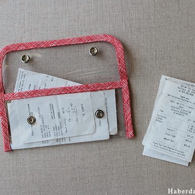 Sew Clear Vinyl Wallets