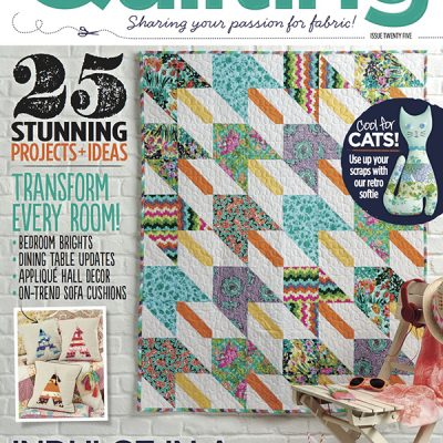 A Little Feature in Love Patchwork & Quilting Magazine