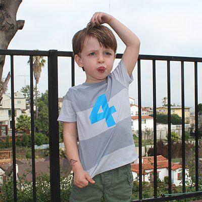 Easy HTV Kids Birthday T-shirt