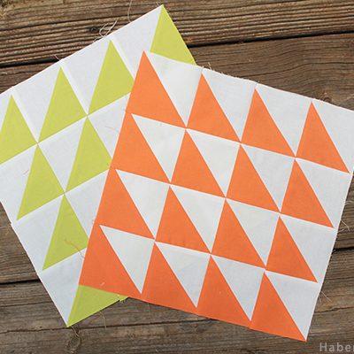 Bella Skillbuilder Half Square Triangles Block